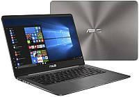Ноутбук ASUS UX430UQ-GV223R 14FHD AG/Intel i7-7500U/16/512SSD/NVD940MX-2/W10P/Grey, 90NB0DS1-M05150