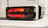 Карбоновые накладки на стопы в стиле Mansory Mercedes W463, фото 1