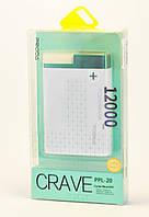 Портативная батарея, Повербанк Proda Crave PPL-20 12000mAh green