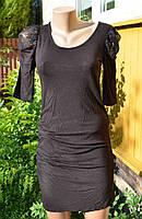 Чорне плаття! стан супер! гіпюр!