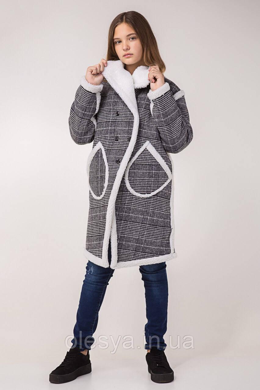 0e52dbbbfb6 Детское демисезонное пальто Милана на девочку размеры 140- 164 Тренд сезона