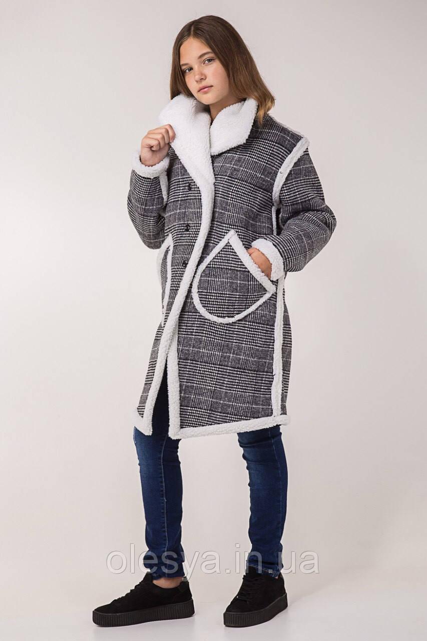 4d093fb358d Детское демисезонное пальто Милана на девочку размеры 140- 164 Тренд сезона  - Магазин Олеся в