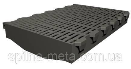 Решетка пластиковая 400х600 мм для щелевого пола