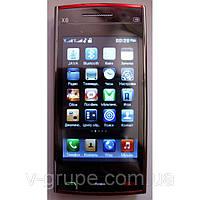 Копия Nokia X6 / 2 сим-карты / 0,3 Мп / FM-радио
