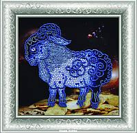 """Набор для вышивания бисером Р-179 """"Символ года Овцы и Козы"""""""