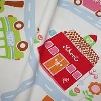 Ткань для детской с машинками, фото 1