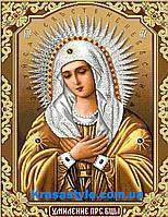 Алмазная вышивка - икона Мария богородица
