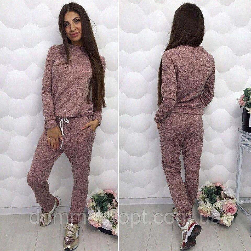 8cc8b17041fc Стильный женский спортивный костюм из ангоры в расцветках купить в ...