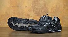 Кроссовки мужские пума Puma Disc Blaze x Graphers Rock Black. ТОП Реплика ААА класса., фото 2