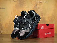 Кроссовки мужские пума  Bape x Puma Disc Blaze Black Camo . ТОП Реплика ААА класса., фото 2