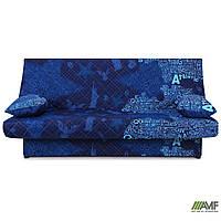 """Диван-кровать Ньюс механизм """"клик-кляк"""" State blue с двумя подушками"""