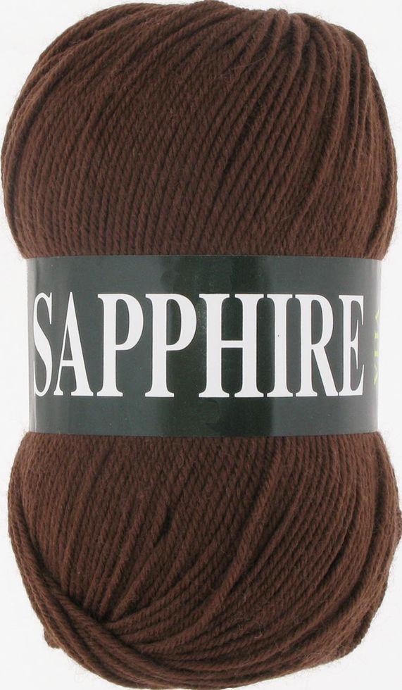 Пряжа Сапфир Sapphire Vita, № 1504, шоколад