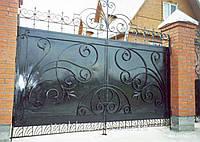 Металлические ворота в Одессе