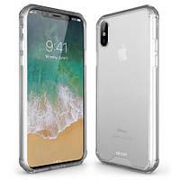 Силиконовый чехол ExoShield Tough Snap-on - Crystal Clear для IPhone X