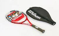 Ракетка для большого тенниса WILSON WRT327400-4 SIX ONE COMP grip 4