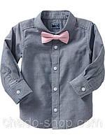 Детская рубашка с бабочкой на мальчика Old Navy