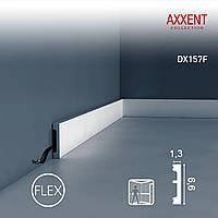 Orac Decor DX157F AXXENT обрамление дверей гибкий плинтус для скрытой проводки молдинг из полиуретана | 2,0 м