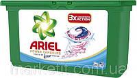 Стиральный порошок жидкий концентрированный Ariel 3 Concentrated Action универсальный в капсулах, 32 шт.