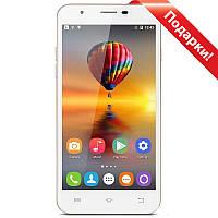 "Смартфон 5.5"" OUKITEL U7 Max, 1GB+8GB Золотистый  2.5D изогнутый стеклянный экран 3G Камера 8Мп Android 5"