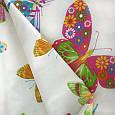 Ткани компаньоны для детской бабочки. тюль. испания, фото 2