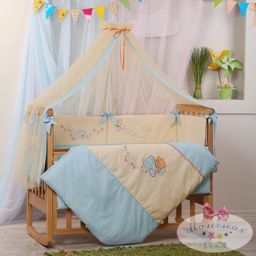 Детский постельный комплект «Авиатор», Маленькая Соня
