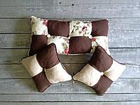 Подушка пэчворк из качественной ткани