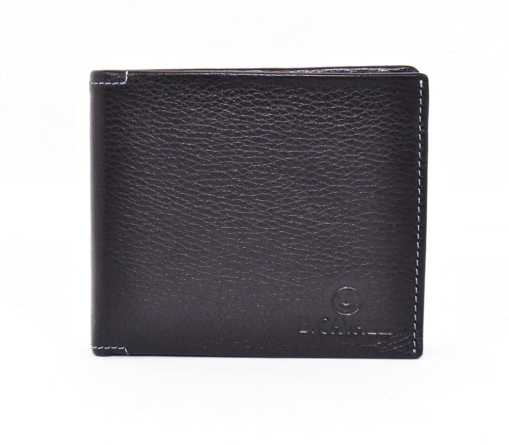 3ee2cdde4574 Кошелек мужской кожаный черный B. Cavalli 452 - Интернет-магазин