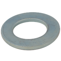 Шайба круглая 10.5(M10) 200HV цинк механический DIN 125 A