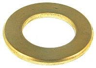 Шайба круглая 10.5(M10) латунь DIN 125 A