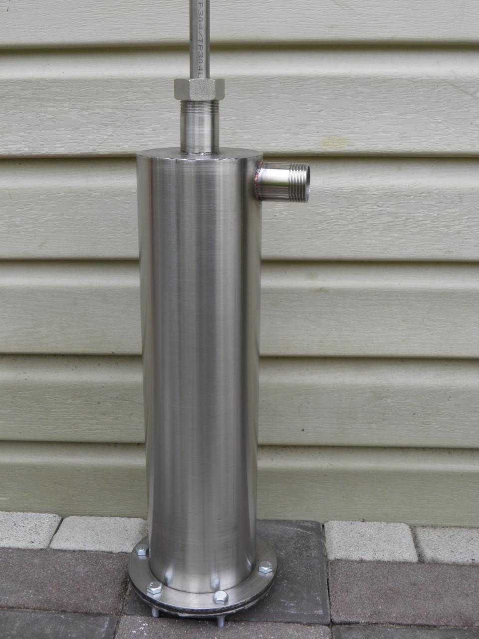Ручной насос для колодца. Насос помпа на скважину (высота гильзы 500 мм, диаметр 104 мм), фото 1