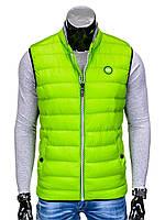 Мужская Безрукавка B40 L, Зеленый