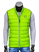 Мужская Безрукавка B40 Зеленый, XXL