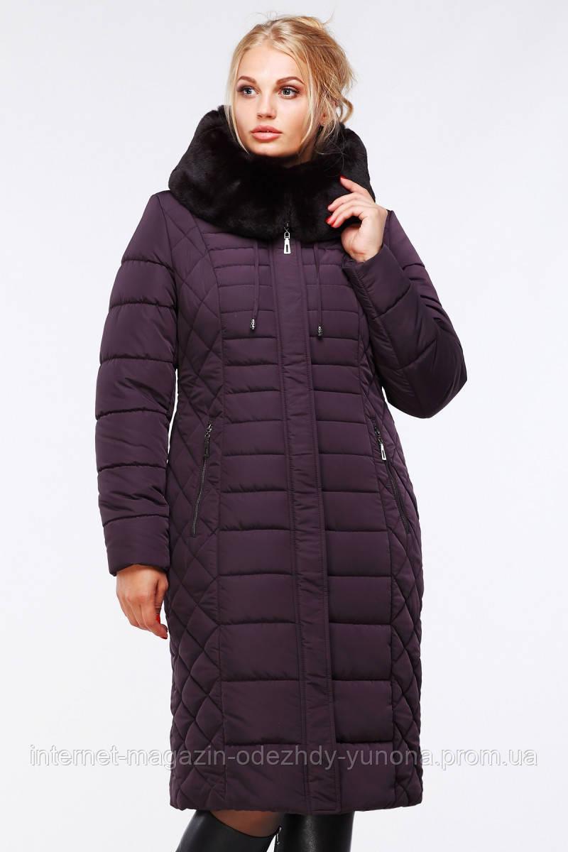 685792b4be2 Пальто женское зимнее из плащевки - Интернет-магазин