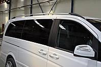 Рейлинги Mercedes Vito (W639) 2003- /длинн.база /Хром /Abs