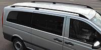 Рейлинги Mercedes Vito (639) 2003- /тип Crown /Черный