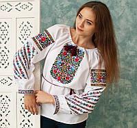 Вишиванка  Бойківська (домоткане полотно)