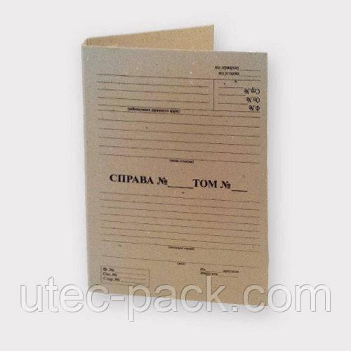 Комплект 10 шт архивных папок без завязок с титульной страницей  корешок 30 мм 230*320 мм А4 беж ПАТ-30-0