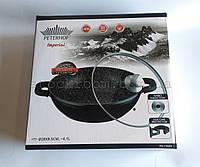 Вок-сковорода Peterhof PH 15840-28 с гранитным покрытием