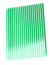 """Стільниковий полікарбонат """"ЕФЕКТОМ ЖАЛЮЗІ"""" 8 мм зелений"""