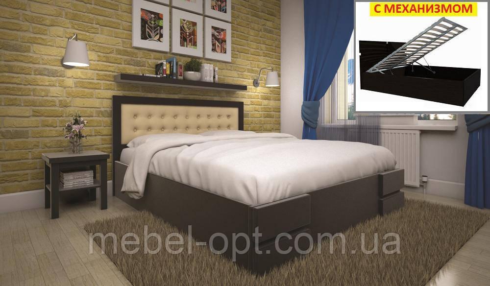 Кровать ТИС КАРМЕН (ПМ) 140*200 дуб