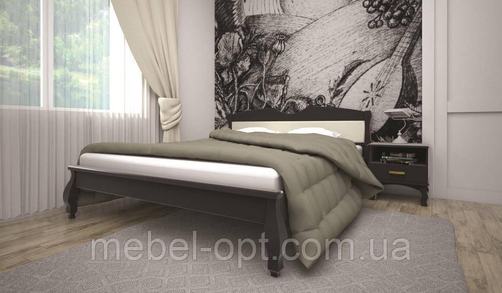 Кровать ТИС КОРОНА 3 140*200 бук