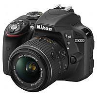 Фотоаппарат Nikon D3300 kit 18-55, фото 1