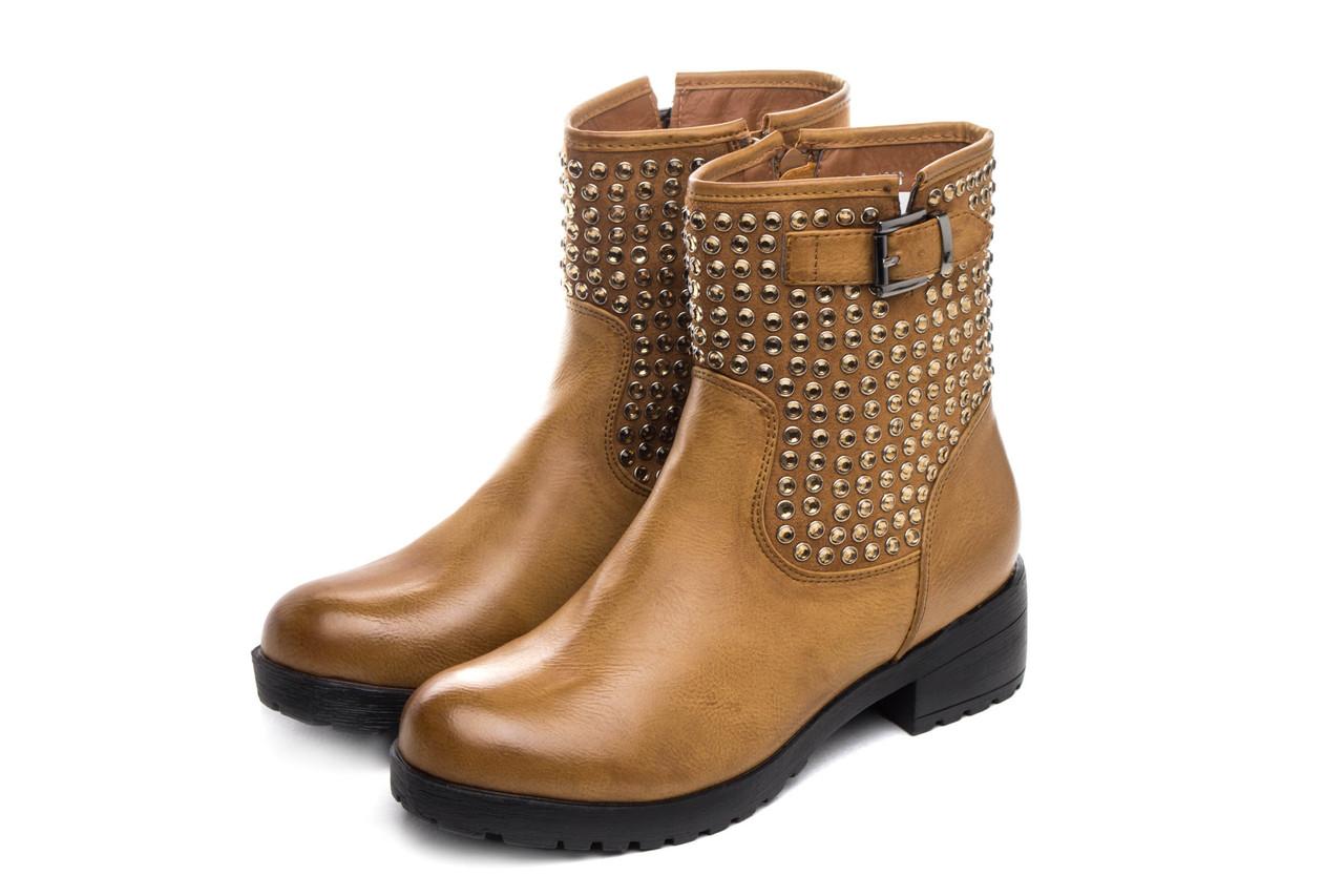 Ботинки женские Allways camel 38