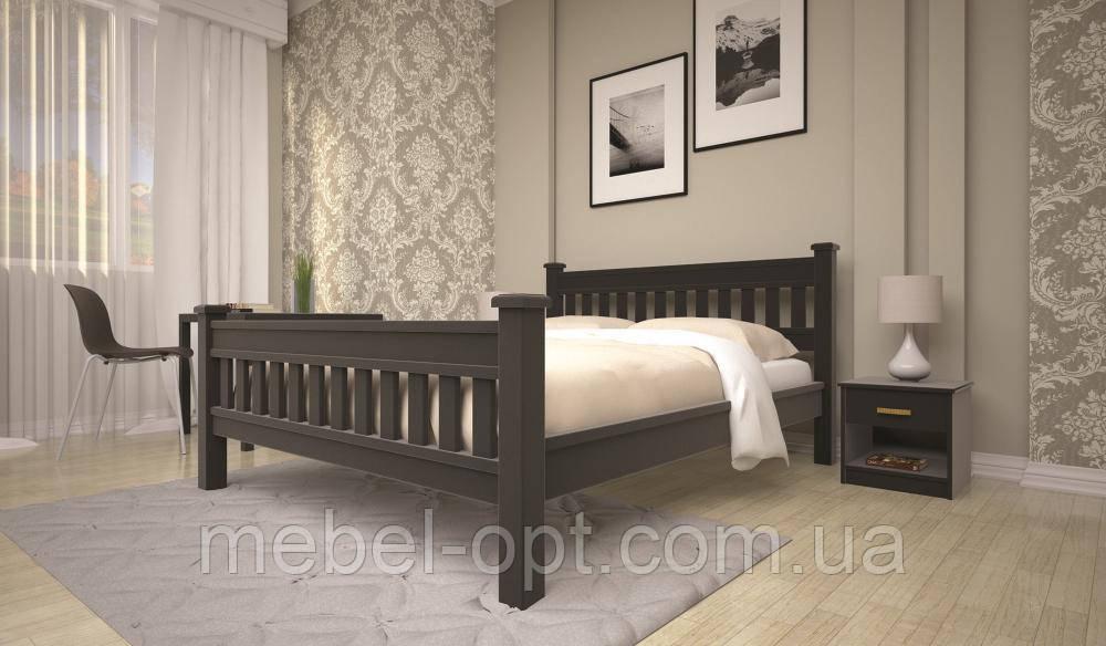 Кровать ТИС МОДЕРН 13 90*200 дуб
