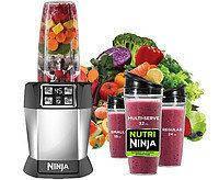 Мощный Кухонный Комбайн Пищевой Процессор Nutri Ninja Auto iQ Умный Блендер Ниндзя