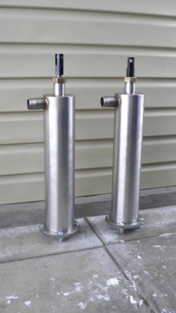 Ручной насос для скважины. Ручной штанговый насос (высота гильзы 600 мм, диаметр 89 мм), фото 1
