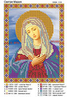 """""""Святая Мария""""  Именная икона для вышивки бисером"""