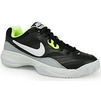 Мужские теннисные кроссовки Nike Court Lite black/grey (845021-005)