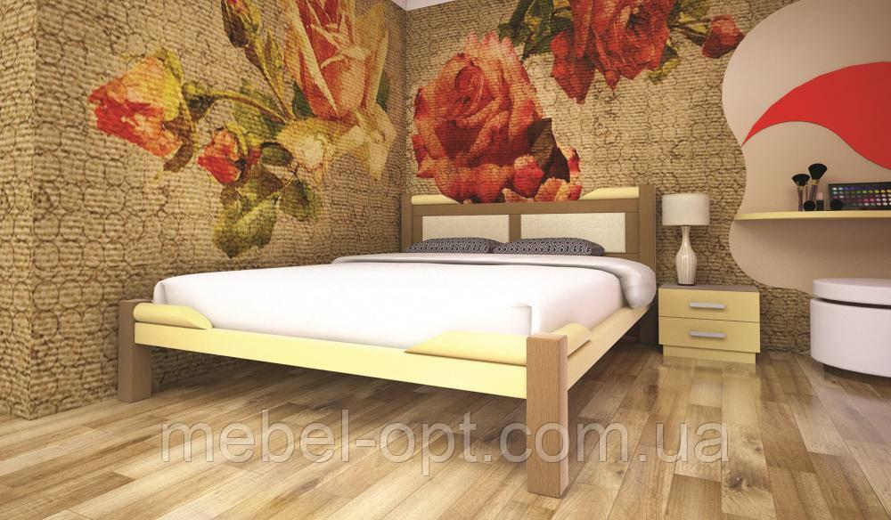Кровать ТИС САКУРА 1 180*200 бук