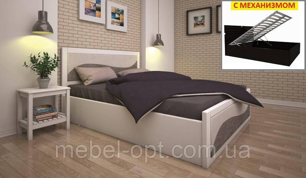 Кровать ТИС ТИТАН 3 (ПМ) 90*190 дуб
